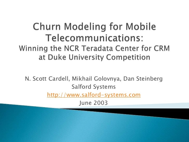 The telco churn management handbook