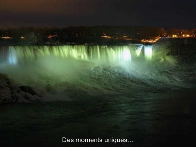 Les chutes colorées, vue coté CanadienLes chutes colorées, vue coté Canadien