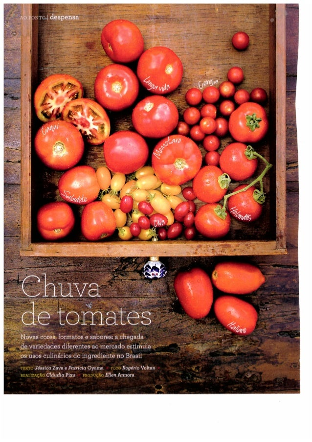 Chuva de tomates