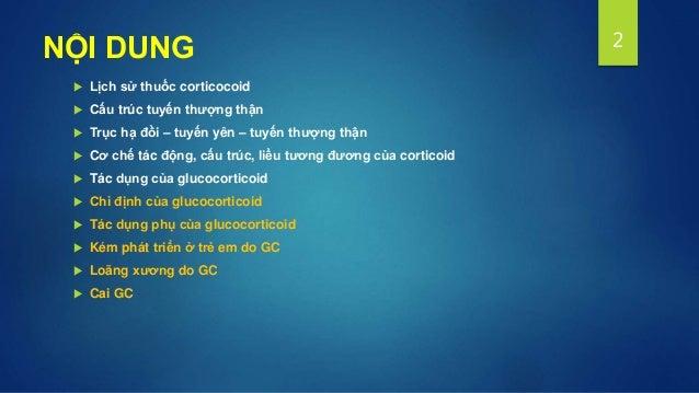 Chuyen de corticoid Slide 2