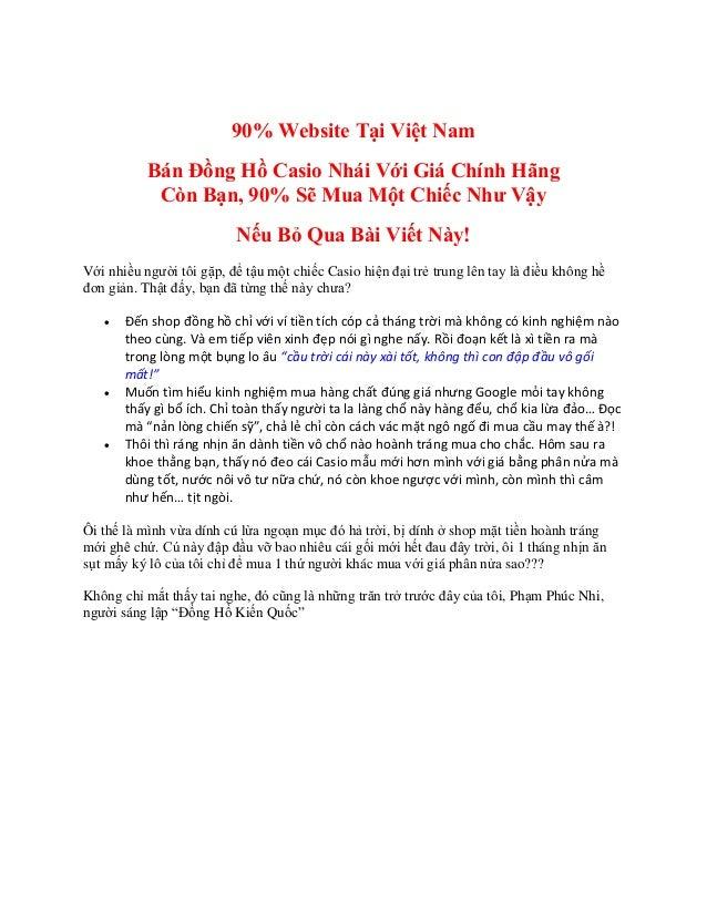 Tư vấn bán đồng hồ casio bảo đảm - Tư vấn bán đồng hồ casio chính hãng giá tốt 90% Website Tại Việt Nam Bán Đồng Hồ Casio ...