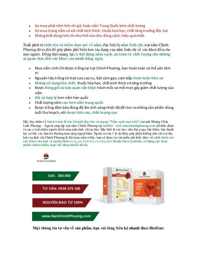  Sợ mua phải nấm linh chi giả hoặc nấm Trung Quốc kém chất lượng  Sợ mua trúng nấm có xài chất kích thích, thuốc hoá học...