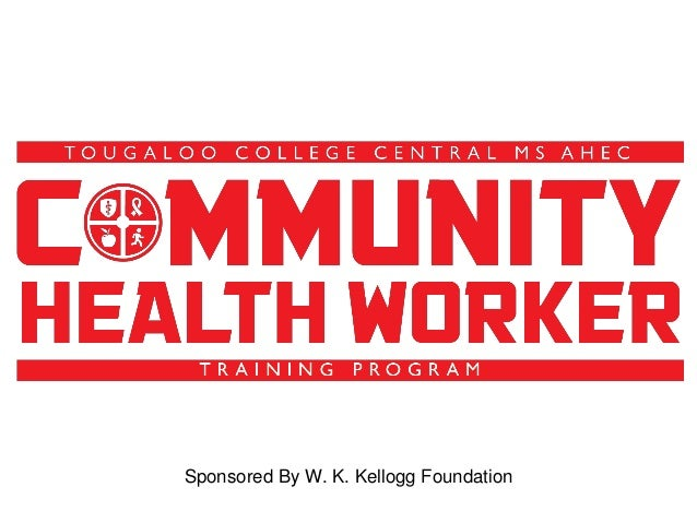 Sponsored By W. K. Kellogg Foundation