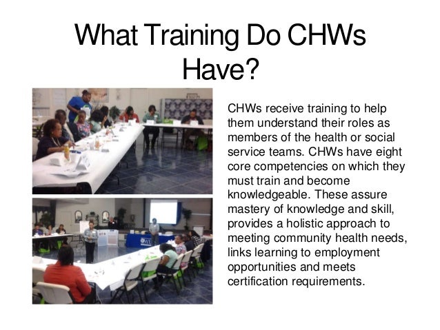 Community Health Workers (CHWs)