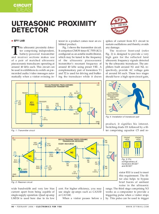 AUTOMATIC DOORBELL WITH OBJECT DETECTION USING ULTRA SONIC TRANSMITTE…
