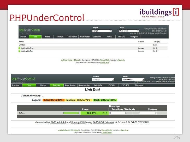 Cruise Control <ul><li>Java based CI server