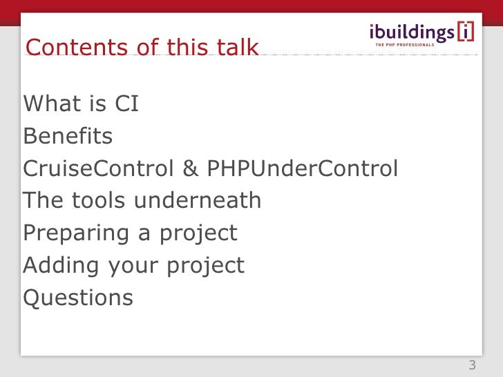 About me <ul><li>Software Engineer at Ibuildings