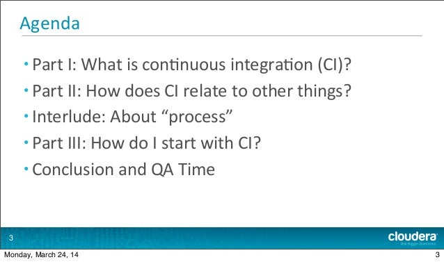 Introduction to Continuous Integration Slide 3