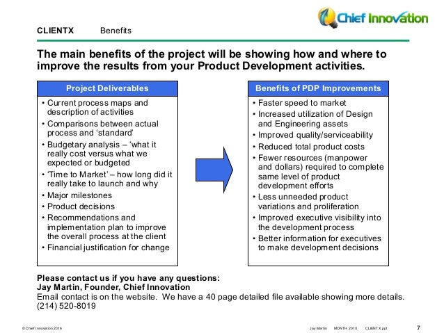 product development process improvement