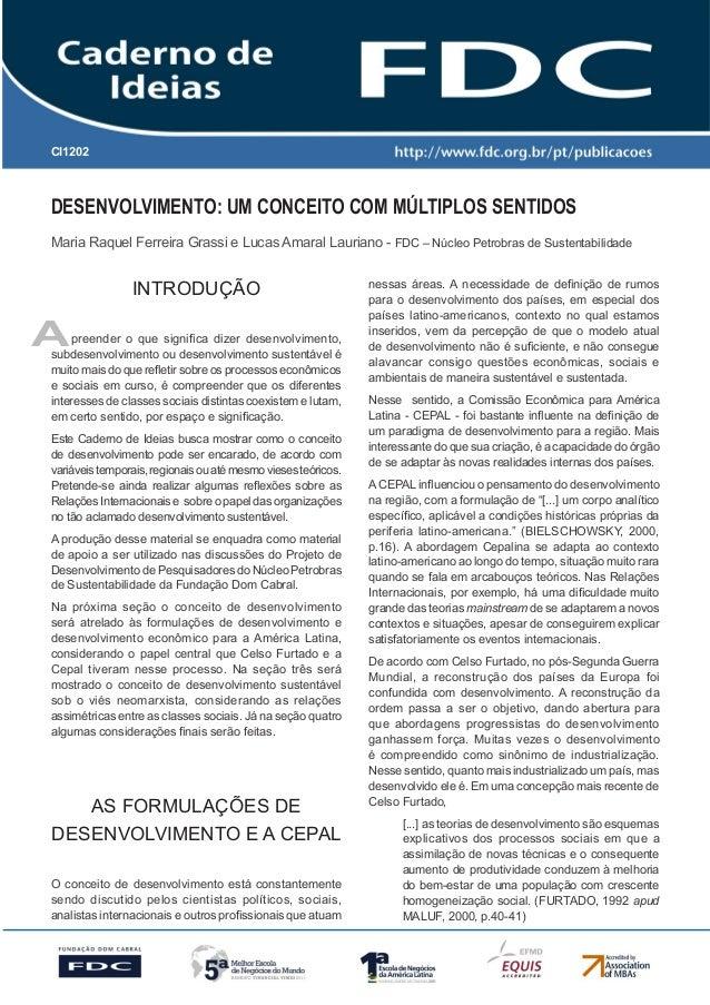 Gestão Estratégica do Suprimento e o Impacto no Desempenho das Empresas Brasileiras Desenvolvimento: Um Conceito com Múlti...