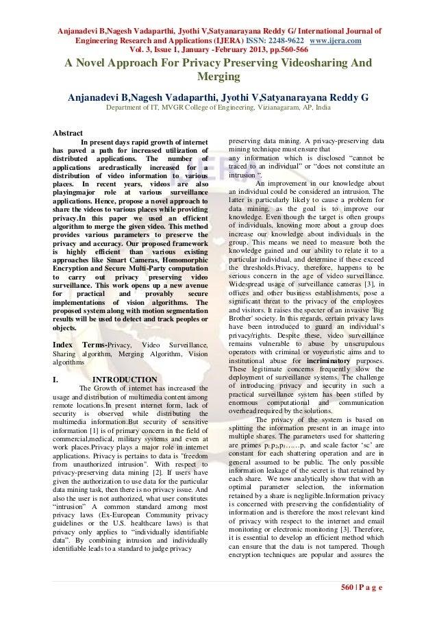 Anjanadevi B,Nagesh Vadaparthi, Jyothi V,Satyanarayana Reddy G/ International Journal of     Engineering Research and Appl...