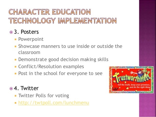 CI 350 Character Education Powerpoint