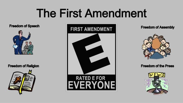 freedom of the press in the first amendment The first amendment protects several basic freedoms in the united states including freedom of religion, freedom of speech, freedom of the press, the right to assemble, and the right to petition the government.