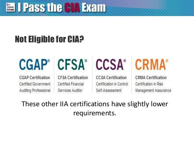 CIA Exam Eligibility for Aspring Certified Internal Auditors