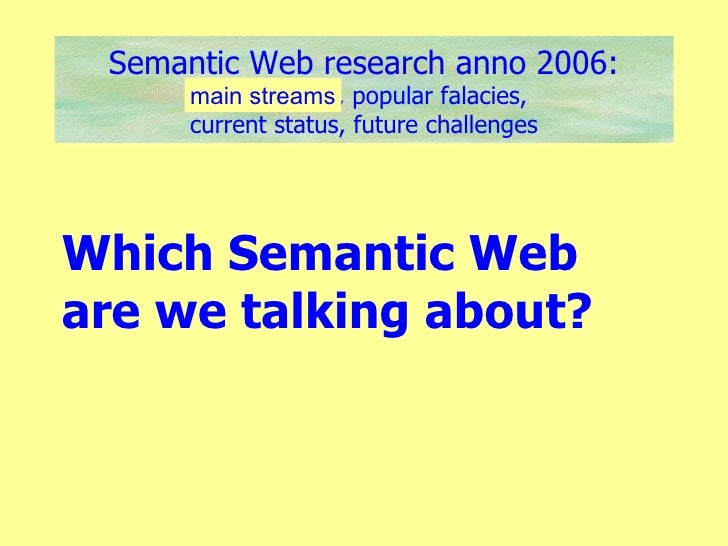Free research papers and projects on Semantic Web Mining