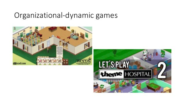 Organizational-dynamic games