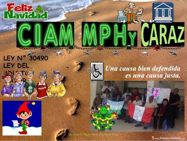 Lic Irma D Reyes Ricra Ciam Mphy Musica