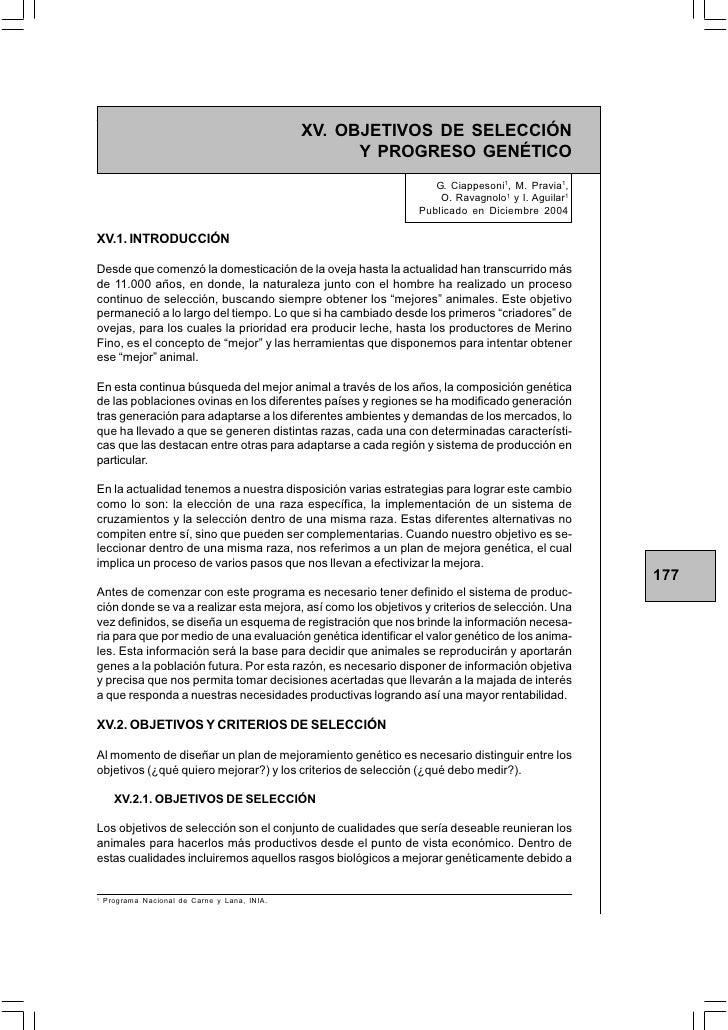 INIA TACUAREMBÓ                                       PROYECTO MERINO FINO DEL URUGUAY                                    ...