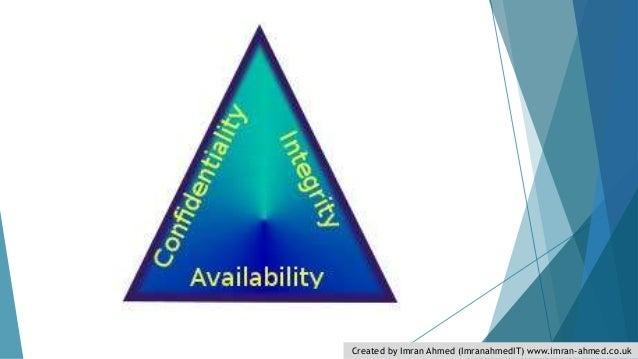 Cia triad security models