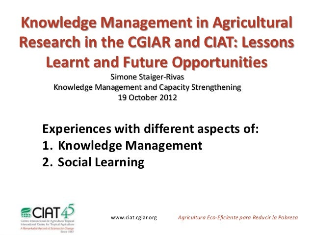 personnel management research in agribusiness Cartc central agricultural research and development and training centre  ceci  in terms of its administration, personnel, and mode of working induction .