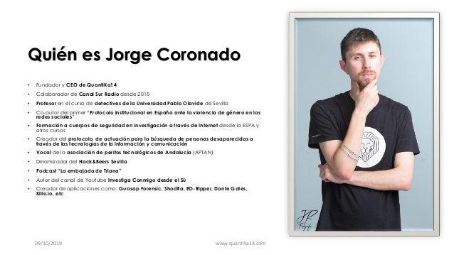 Ciberacoso por Jorge Coronado Slide 2