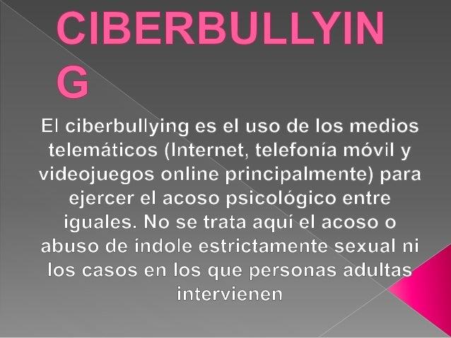 Ciberbullying erika y marcela