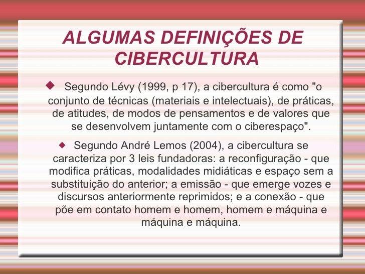 Cibercultura Slide 2