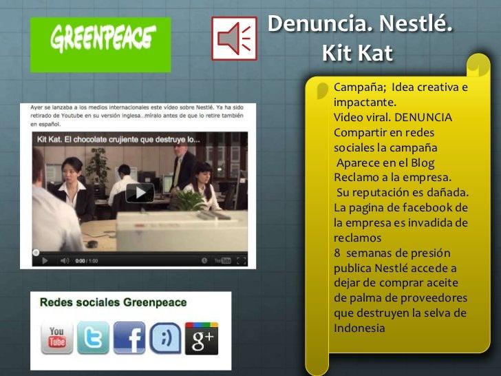 Ventajas de las campañas de       ONGs grandes                       Ampliar red socialEspecializadas en la        Logran ...