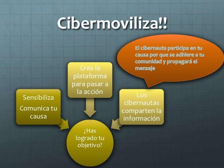 Actores movilizadores.                  Plataformas de               participación ciudadana    Las personas pueden abrir ...
