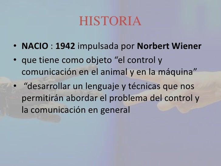 • La cibernética dio gran impulso a la teoría de  la información a mediados de los 60• la computadora digital sustituyo la...