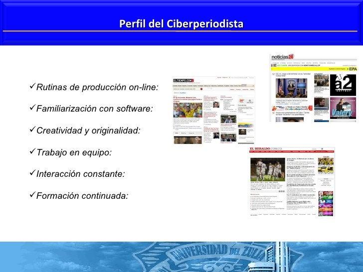 <ul><li>Rutinas de producción on-line: </li></ul><ul><li>Familiarización con software:  </li></ul><ul><li>Creatividad y or...