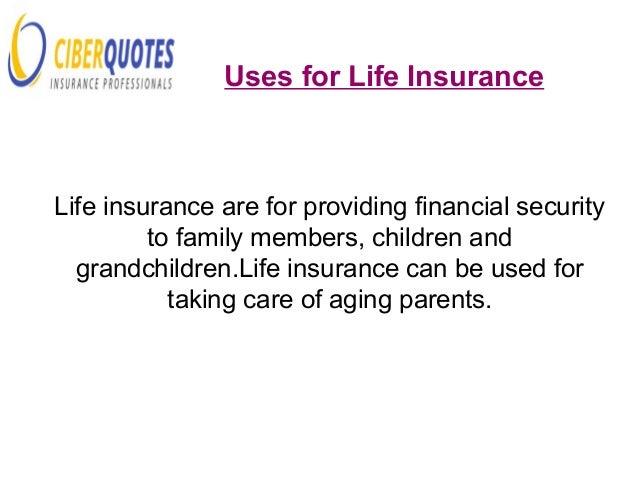 ... Life Insurance; 7.