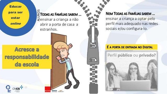 Educar para ser estar online DOMÍNIO: SEGURANÇA, RESPONSABILIDADE E RESPEITO EM AMBIENTES DIGITAIS 5º Ano 6º Ano 7º Ano 8º...