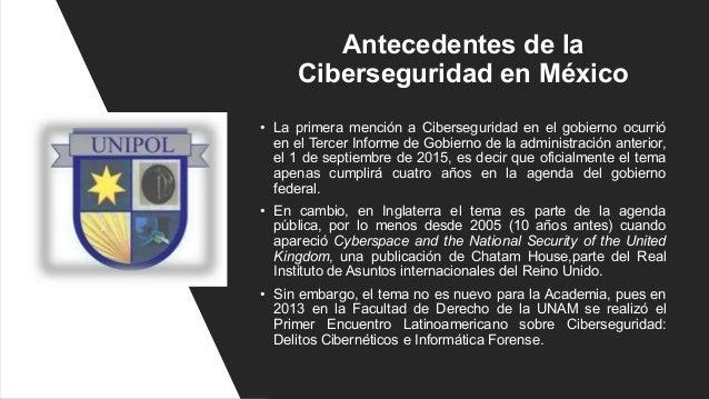Ciberseguridad en México como parte de una Estrategia Digital Sustentable por Edgar Vásquez Cruz Slide 2