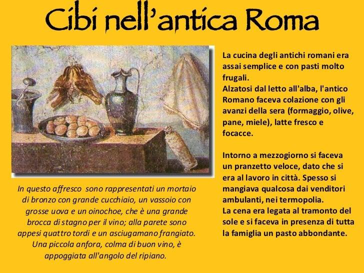 Cibi nellantica roma for Cibi romani