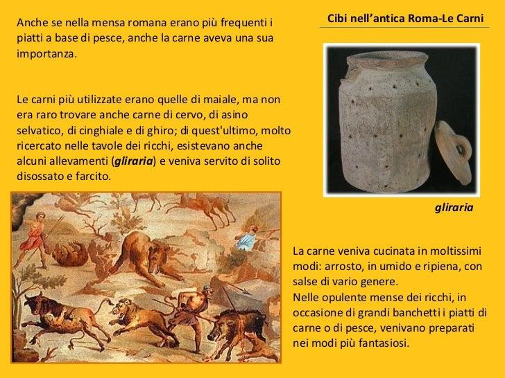 Cibi nellantica roma for Cucina romana antica