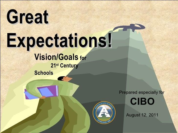 Asheville City Schools Vision/Goals for 21st Century Schools