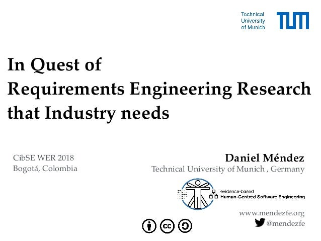 In Quest of 