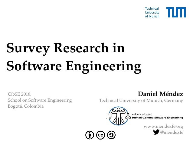 Survey Research in 