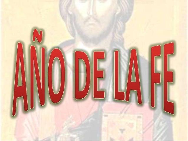 INTRODUCCIÓN    Con la Carta apostólica Porta fidei, del 11 de octubre de 2011, el Santo Padre Benedicto XVI ha proclamado...