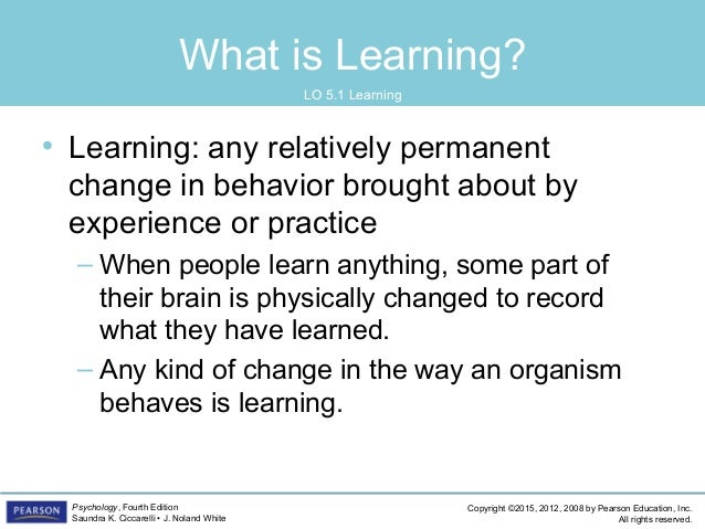 PSYC1101 - Chapter 5, 4th Edition PowerPoint Slide 3