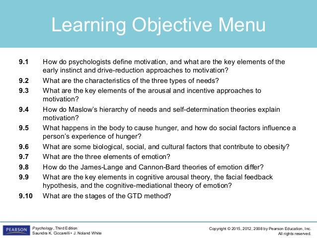 PSYC1101 - Chapter 9, 4th Edition PowerPoint Slide 2