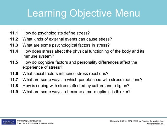 PSYC1101 - Chapter 11, 4th Edition PowerPoint Slide 2
