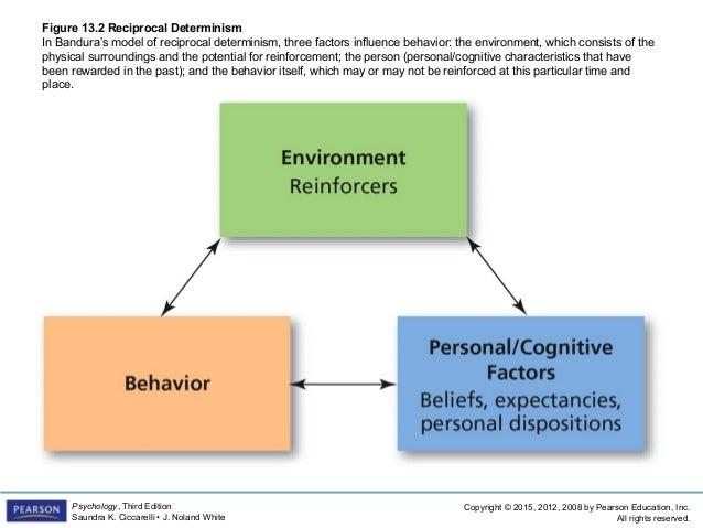An explanation of human behavior through social determinism
