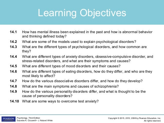 PSYC1101 - Chapter 14, 4th Edition PowerPoint Slide 2