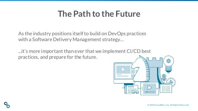 © 2019 CloudBees, Inc. All Rights Reserved. The Path to the Future As the industry positions itself to build on DevOps pra...