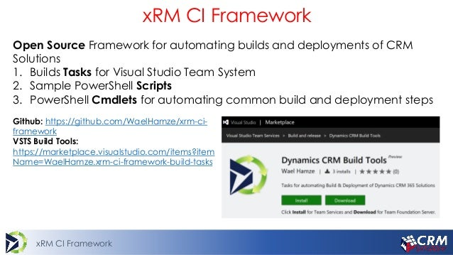 Continuous Delivery & Integration for CRM Projects