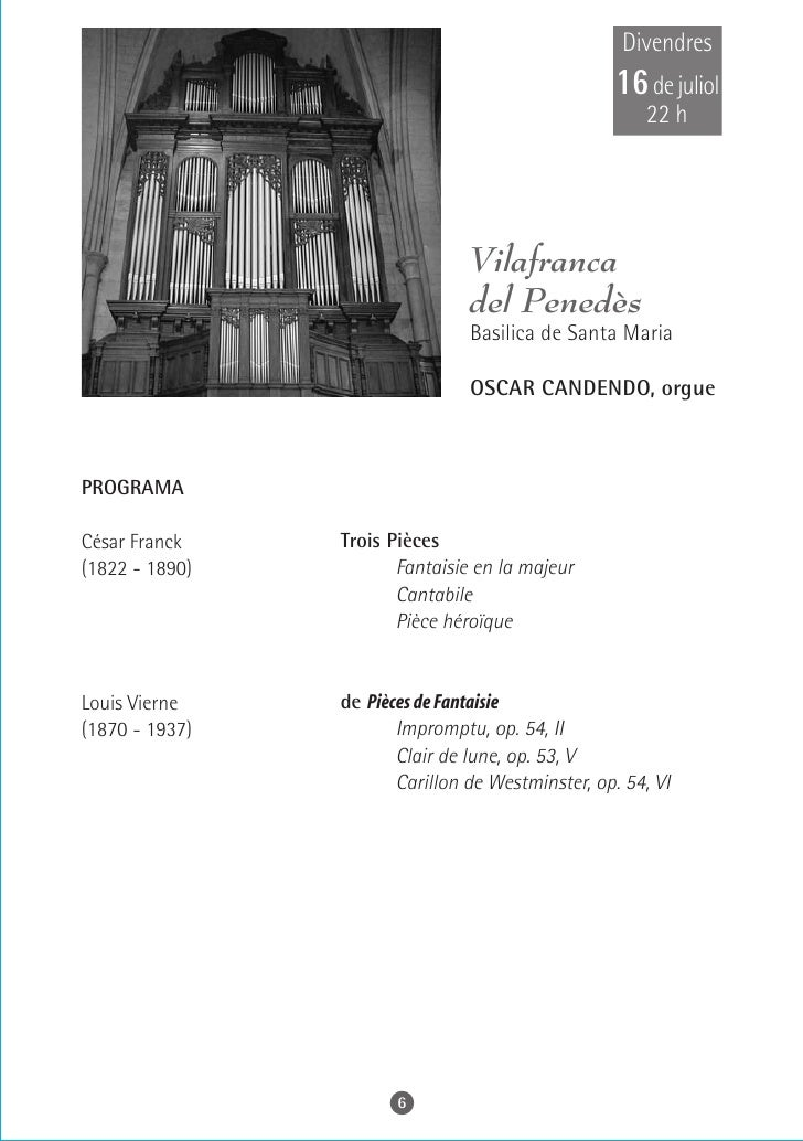 Dissabte 17 de juliol    22 h                 Cadaqués   Parròquia de Santa Maria        RAÚL PRIETO, orgue    PROGRAMA  G...