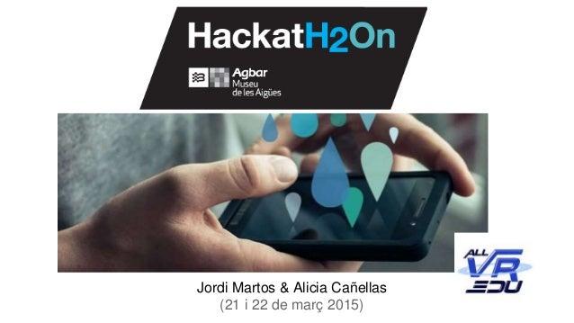 Jordi Martos & Alicia Cañellas (21 i 22 de març 2015)