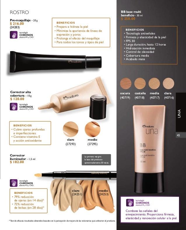 Natura maquillaje catálogo